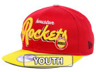 Houston Rockets New Era NBA Hardwood Classics Youth Bright Nights 9FIFTY Snapback Cap Adjustable Hats