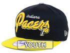 Indiana Pacers New Era NBA Hardwood Classics Youth Bright Nights 9FIFTY Snapback Cap Adjustable Hats