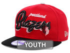 Portland Trail Blazers New Era NBA Hardwood Classics Youth Bright Nights 9FIFTY Snapback Cap Adjustable Hats