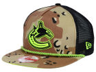 Vancouver Canucks New Era NHL A-Rope 9FIFTY Snapback Cap Adjustable Hats