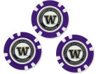 Washington Huskies Team Golf Golf Poker Chip Markers 3 Pack Toys & Games
