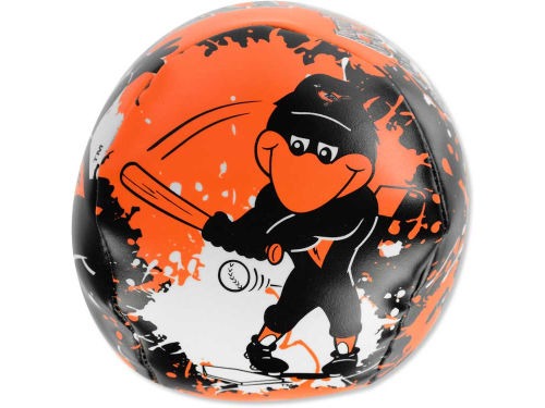 Baltimore Orioles Jarden Sports Softee Quick Toss Baseball 4inch