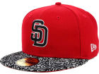 San Diego Padres New Era MLB E-Print 59FIFTY Cap Fitted Hats