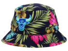 Chicago Bulls Mitchell and Ness NBA Hawaiian Print Bucket Hats