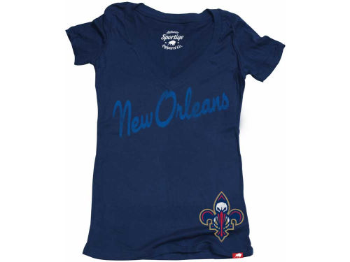 New Orleans Pelicans NBA Womens Icing Vintage T-Shirt