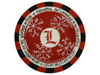 Louisville Cardinals Snowflake Plate Kitchen & Bar