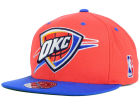 Oklahoma City Thunder Mitchell and Ness NBA Team Patch Fitted Cap Hats