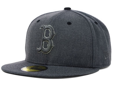 Boston Red Sox MLB Graphite Heather 59FIFTY Cap Hats