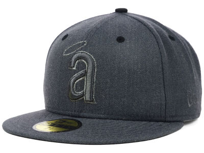 Los Angeles Angels of Anaheim MLB Graphite Heather 59FIFTY Cap Hats