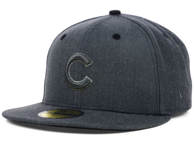 Chicago Cubs MLB Graphite Heather 59FIFTY Cap Hats