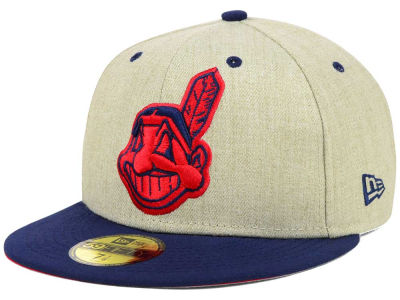 Cleveland Indians MLB Team OAT 59FIFTY Cap Hats