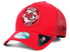 Kansas City Chiefs New Era NFL Trucker Snap 9FORTY Cap Adjustable Hats