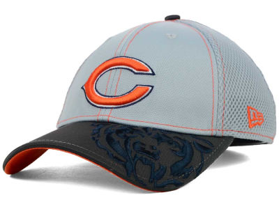 Chicago Bears NFL Logo Crop Neo 39THIRTY Cap Hats
