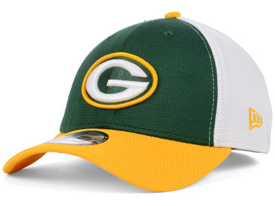 Green Bay Packers NFL Logo Stretch 39THIRTY Cap Hats