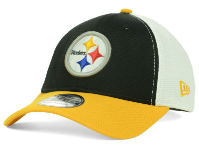 Pittsburgh Steelers NFL Logo Stretch XP 39THIRTY Cap Hats