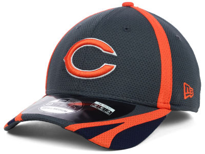 Chicago Bears NFL 2014 Graphite Training 39THIRTY XP Cap Hats