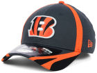 Cincinnati Bengals New Era NFL 2014 Graphite Training 39THIRTY Cap Stretch Fitted Hats