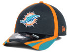 Miami Dolphins New Era NFL 2014 Graphite Training 39THIRTY Cap Stretch Fitted Hats