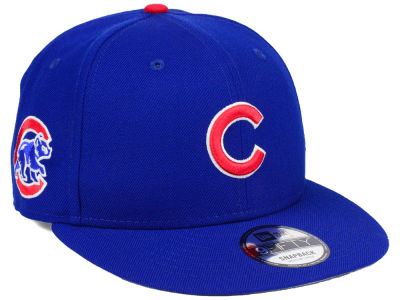 Chicago Cubs MLB 2 Tone Link 9FIFTY Snapback Cap Hats