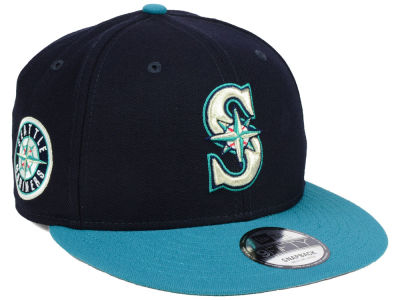 Seattle Mariners MLB 2 Tone Link 9FIFTY Snapback Cap Hats