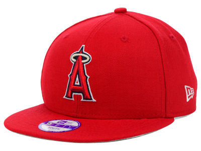 Los Angeles Angels MLB Youth Major Wool 9FIFTY Snapback Cap Hats