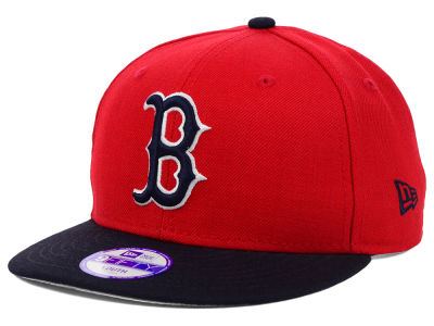 Boston Red Sox MLB Youth Major Wool 9FIFTY Snapback Cap Hats