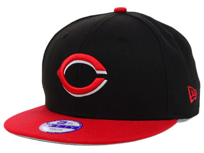 Cincinnati Reds MLB Youth Major Wool 9FIFTY Snapback Cap Hats