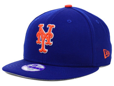 New York Mets MLB Youth Major Wool 9FIFTY Snapback Cap Hats
