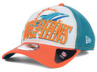 Miami Dolphins New Era NFL 2014 Word Rush 39THIRTY Cap Stretch Fitted Hats