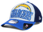 San Diego Chargers New Era NFL 2014 Word Rush 39THIRTY Cap Stretch Fitted Hats