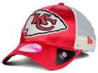 Kansas City Chiefs New Era NFL 2014 Womens Satin Chic 9FORTY Cap Adjustable Hats