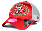 San Francisco 49ers New Era NFL 2014 Womens Satin Chic 9FORTY Cap Adjustable Hats