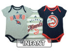 Atlanta Hawks adidas NBA Infant 3 Point Play Bodysuit Set Outfits