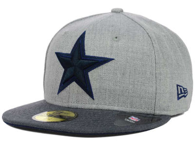 Dallas Cowboys NFL Heather 2 Tone 59FIFTY Cap Hats