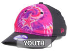 Dallas Cowboys New Era NFL Kids Tie Dye 9TWENTY Cap Adjustable Hats