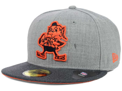 Cleveland Browns NFL Heather 2 Tone 59FIFTY Cap Hats