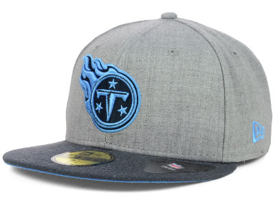 Tennessee Titans NFL Heather 2 Tone 59FIFTY Cap Hats