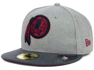 Washington Redskins NFL Heather 2 Tone 59FIFTY Cap Hats