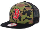 Boston Red Sox New Era MLB Camo Face Mesh Trucker 9FIFTY Snapback Cap Hats