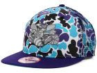 Charlotte Hornets New Era NBA Hardwood Classics Camo Face Mesh Trucker 9FIFTY Snapback Cap Hats