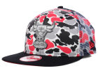 Chicago Bulls New Era NBA Hardwood Classics Camo Face Mesh Trucker 9FIFTY Snapback Cap Hats