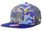 Golden State Warriors New Era NBA Hardwood Classics Camo Face Mesh Trucker 9FIFTY Snapback Cap Hats