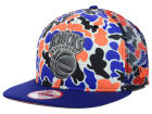New York Knicks New Era NBA Hardwood Classics Camo Face Mesh Trucker 9FIFTY Snapback Cap Hats