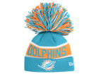 Miami Dolphins New Era NFL The Enthusiast Knit Hats