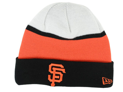 San Francisco Giants New Era MLB Winter Block Knit Hats