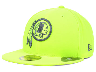 Washington Redskins NFL Pop Gray Basic 59FIFTY Cap Hats