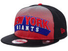 New York Giants New Era NFL Dotflective 9FIFTY Snapback Cap Adjustable Hats
