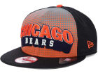 Chicago Bears New Era NFL Dotflective 9FIFTY Snapback Cap Adjustable Hats