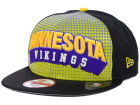 Minnesota Vikings New Era NFL Dotflective 9FIFTY Snapback Cap Adjustable Hats
