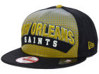New Orleans Saints New Era NFL Dotflective 9FIFTY Snapback Cap Adjustable Hats